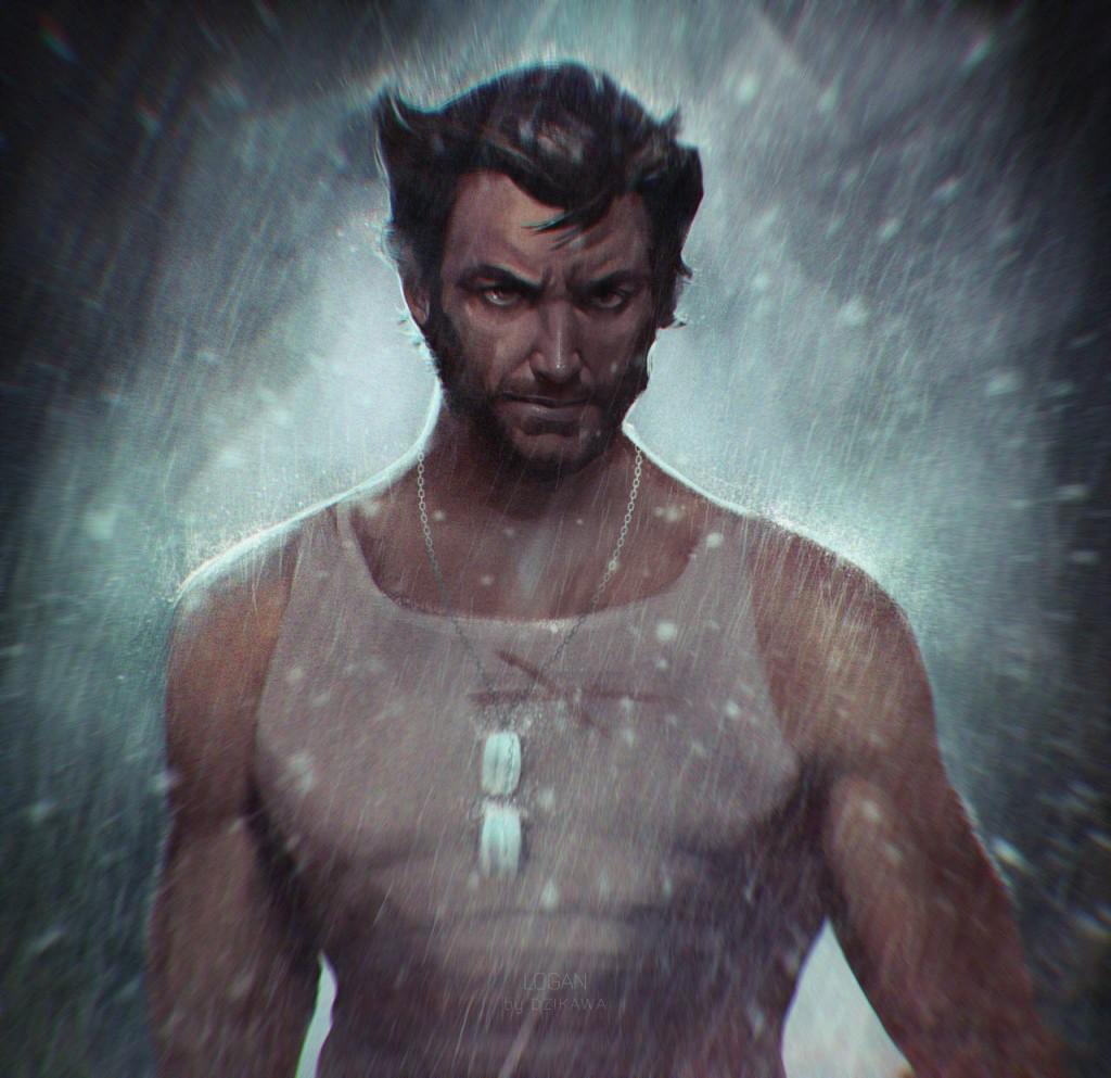 Wolverine Digitally Drawn