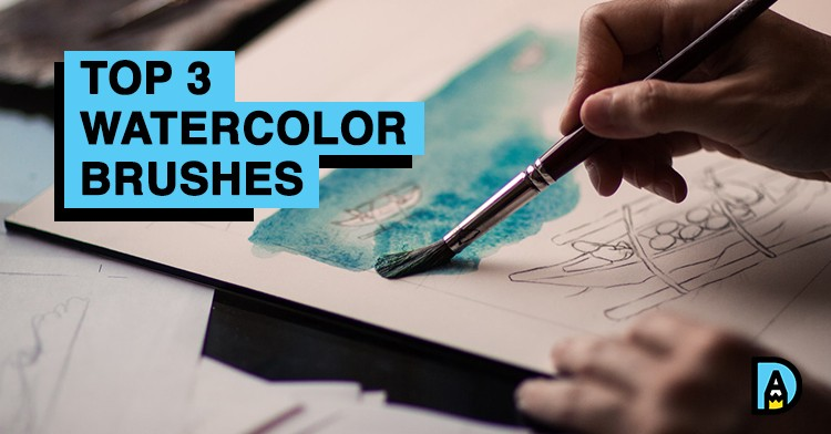 The Best 3 Watercolor Brushes for Artists