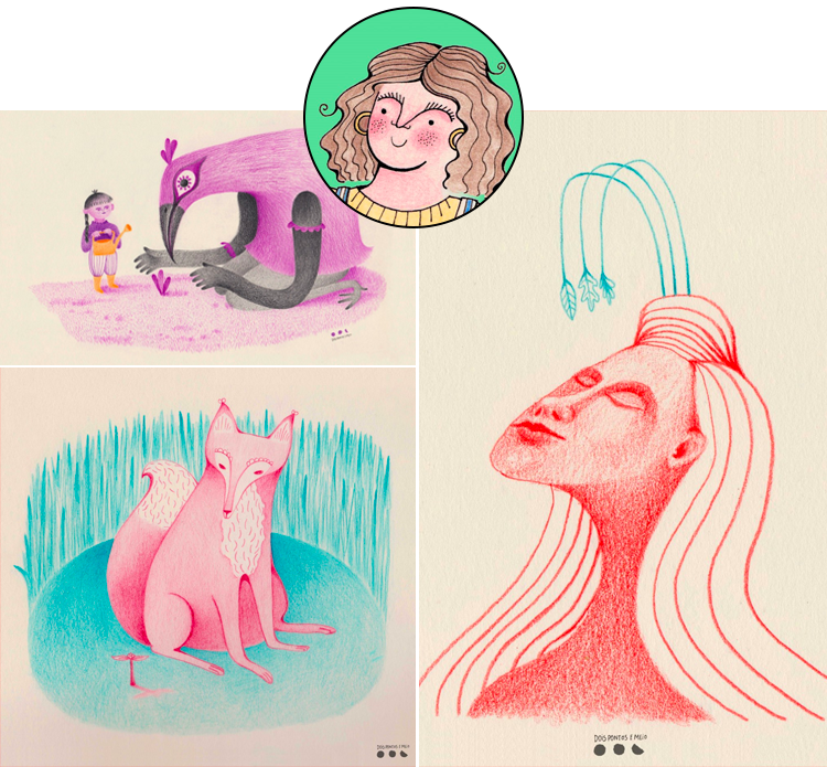 The Vibrant and Whimsical Artwork of Inês Antunes