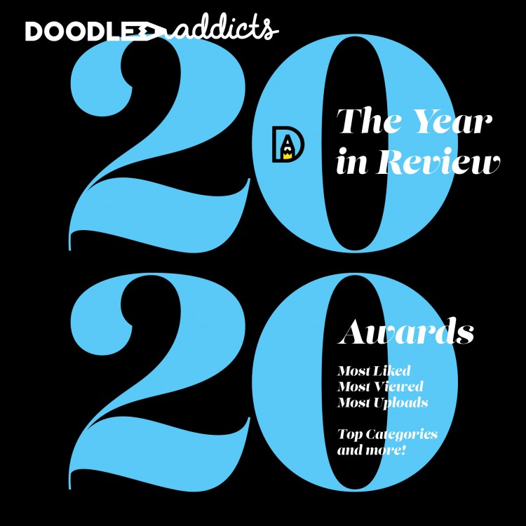 A Year in Review: Doodle Addicts 2020!
