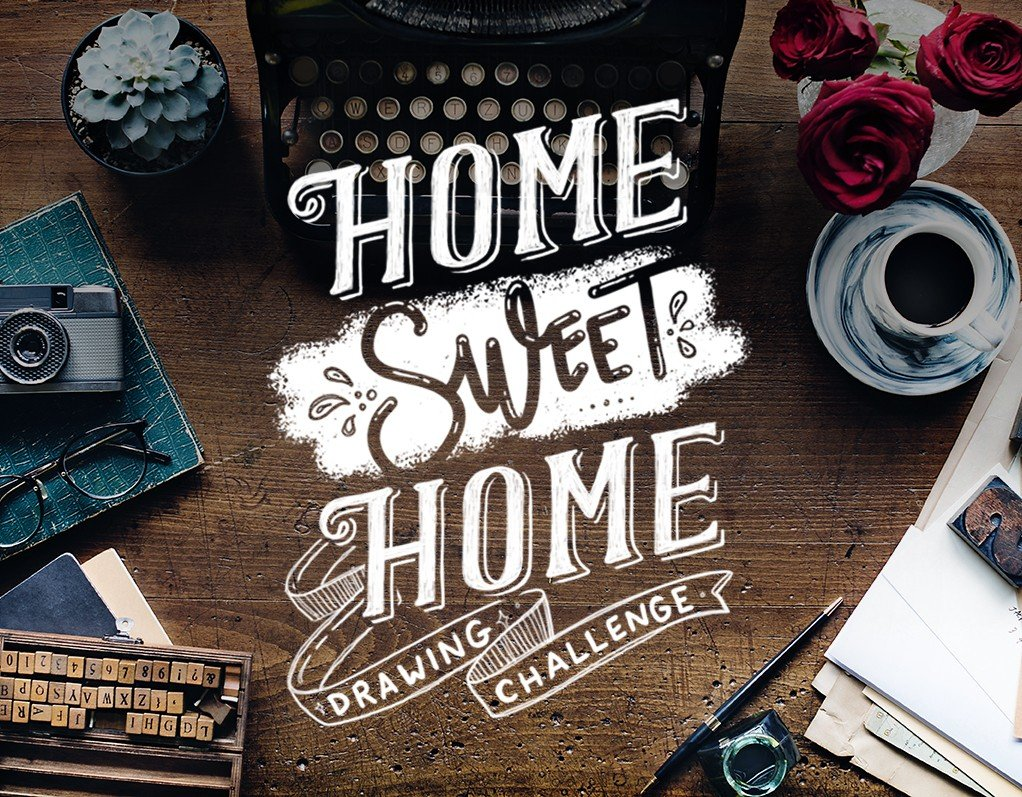Home Sweet Home Drawing Challenge