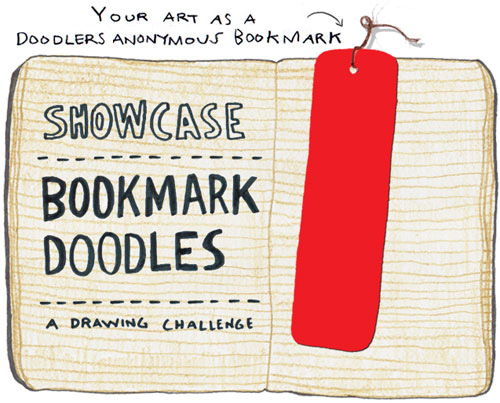 Bookmark Doodles Rd. 2