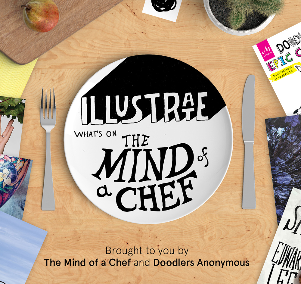 Illustrate Whats on the Mind of a Chef