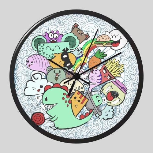 Design A Wall Clock Doodle Addicts