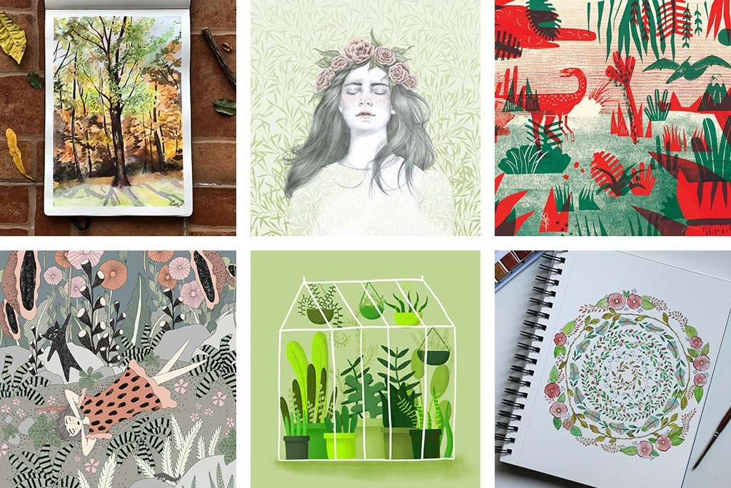 The Mother Nature Drawing Challenge