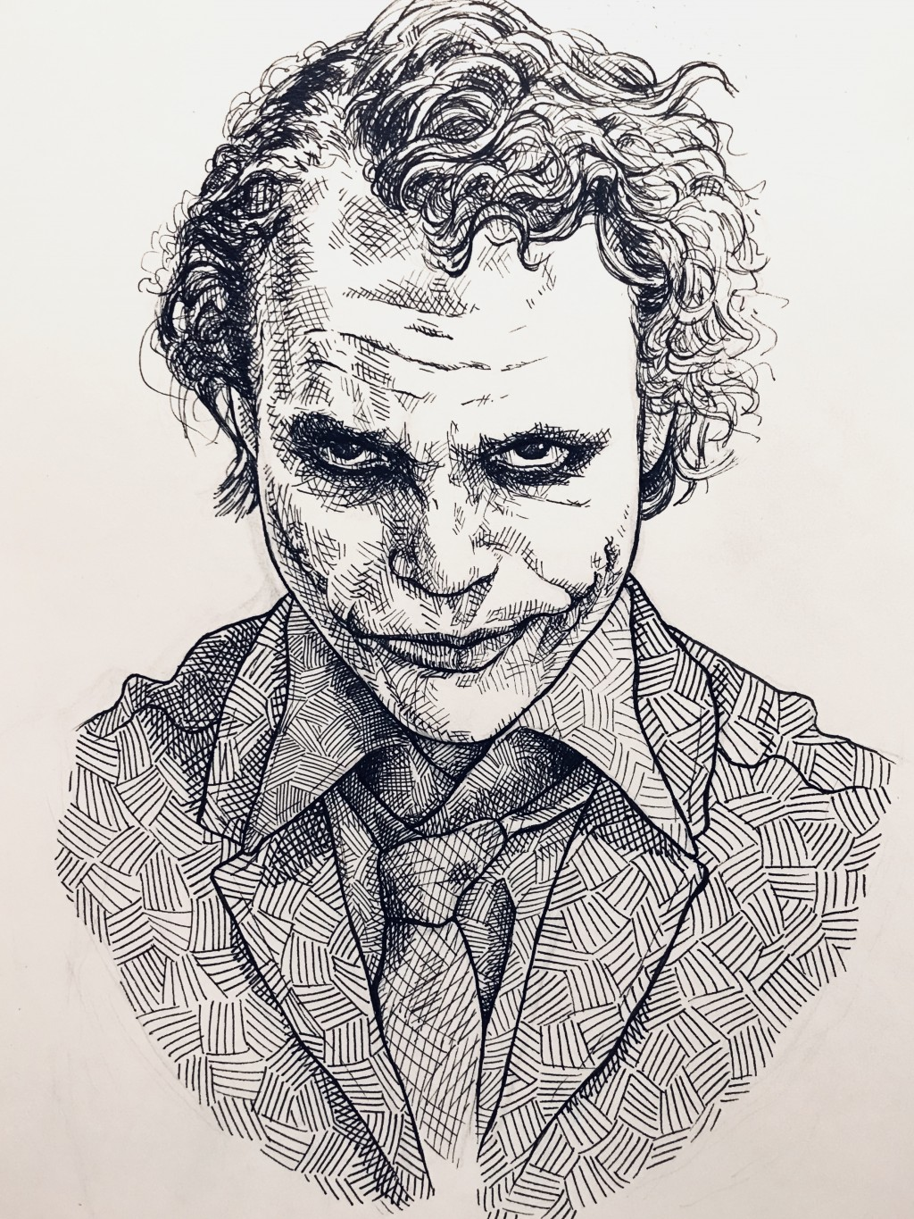 why so serious drawing by daniel depeuter doodle addicts