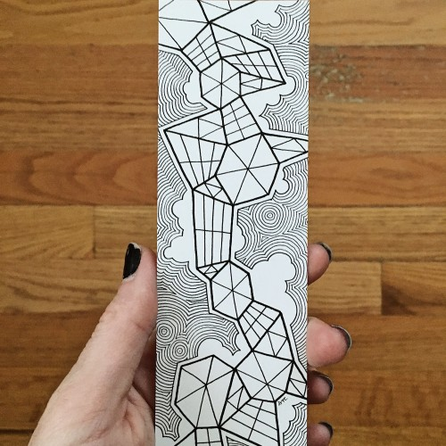 Abstract Doodle Bookmark #2