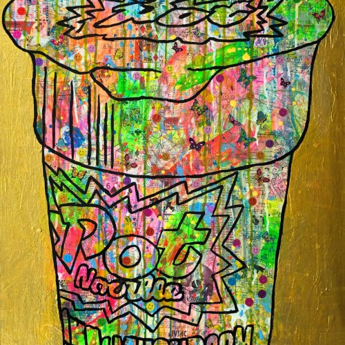 Pop noodle-ism by Barrie J Davies 2018