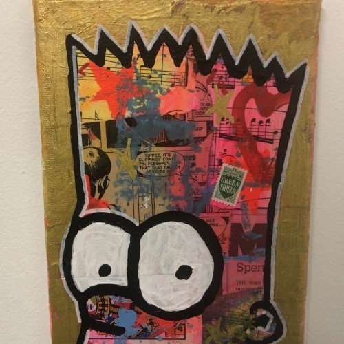 Out of my head by Barrie J Davies 2019