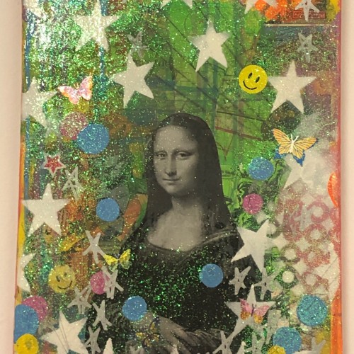 Mona Lisa dream by Barrie J Davies 2019