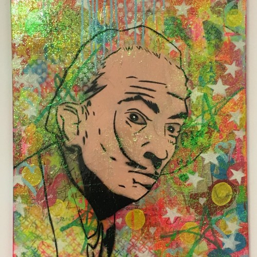 Dali heck by Barrie J Davies, 2017