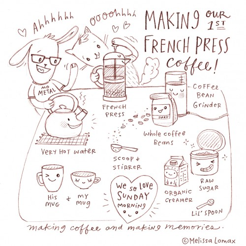 French Press- Coffee Love