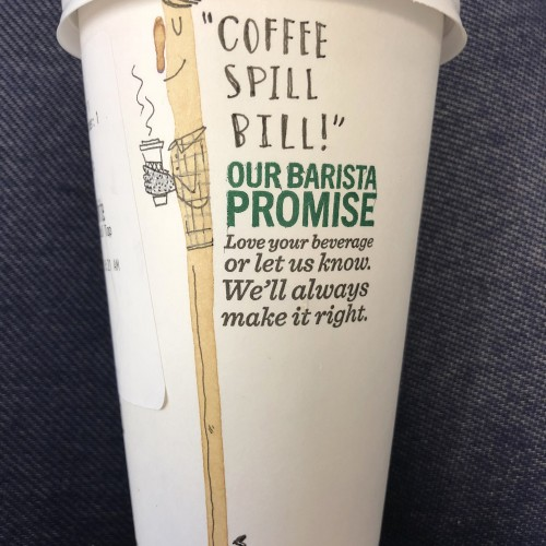 Coffee Spill Bill
