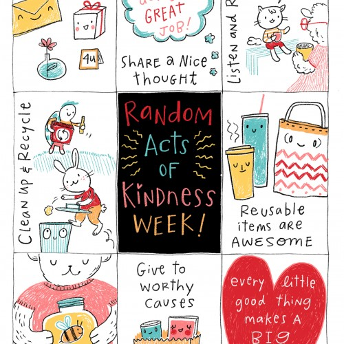 #RAKDay :) Random Acts of Kindness Week (Feb. 17th)