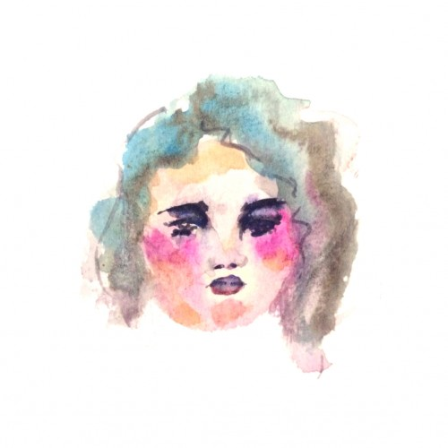 Girl in Watercolor