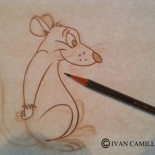 Mouse character drawing