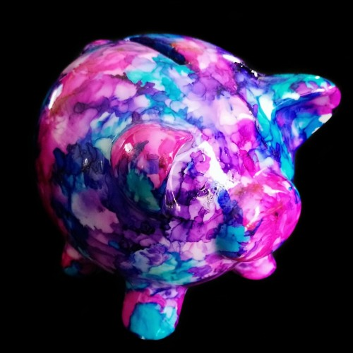 Painted Piggy Bank