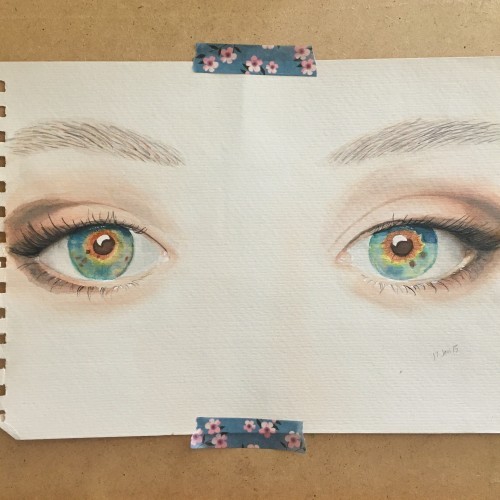 "the eyes from the movie ""i origins"""