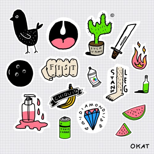 Sticker Pack (one size fits all)