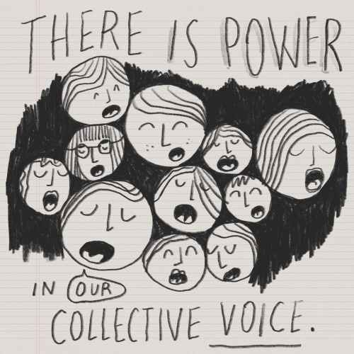 There Is Power In Our Collective Voice