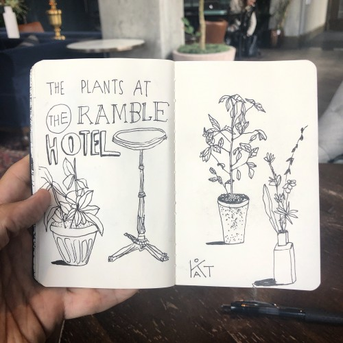 The Plants at The Ramble Hotel