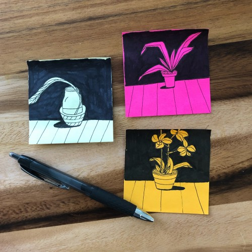 Post-it Plants