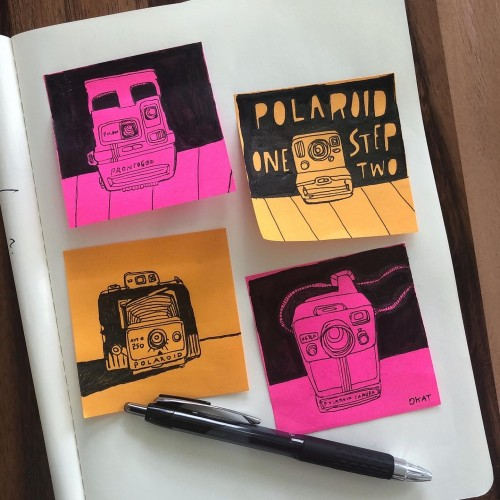 Post-it Note Polaroids
