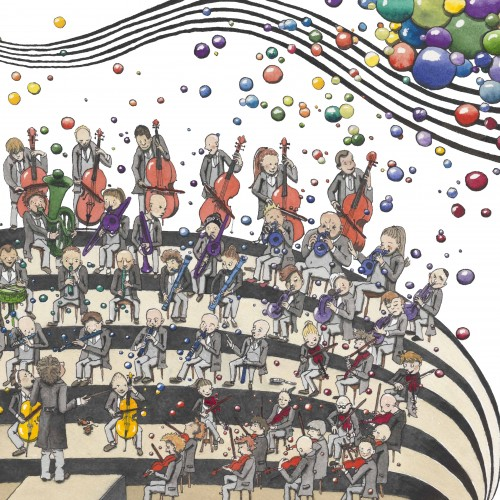 The Vienna Philharmonic Orchestra for a childrens book