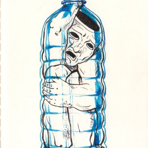 #inktober #day18 #bottle