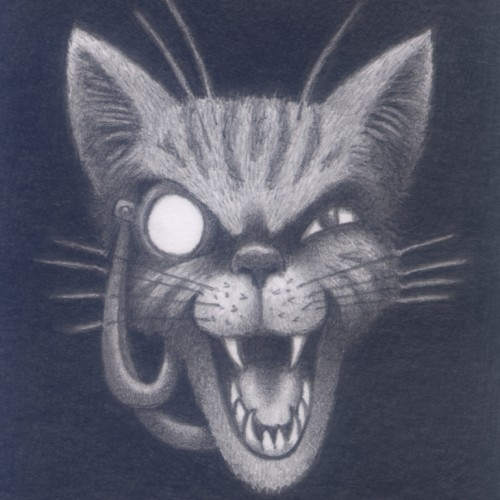 The Laughing Monocled Cat