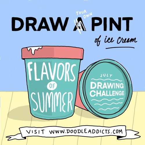 Flavors of Summer Drawing Challenge