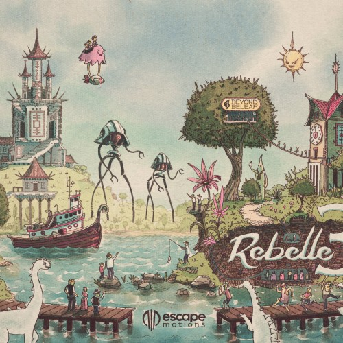 Rebelle World Illustration