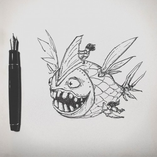 The Pen & The Fish