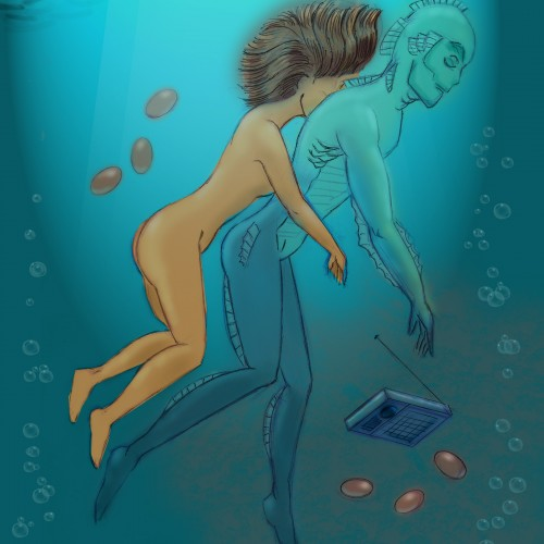 Shape Of Water: LOVERS
