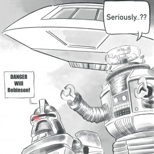 March Of ROBOTS : DANGER!