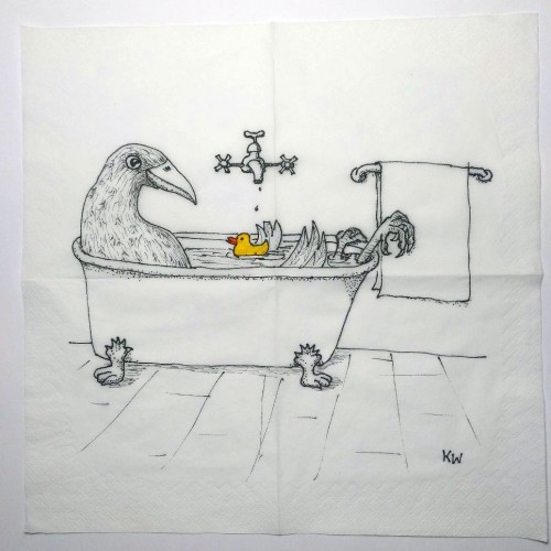 Dont take a bath without a rubber duck