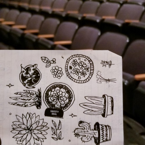 Doodling In An Empty Auditorium