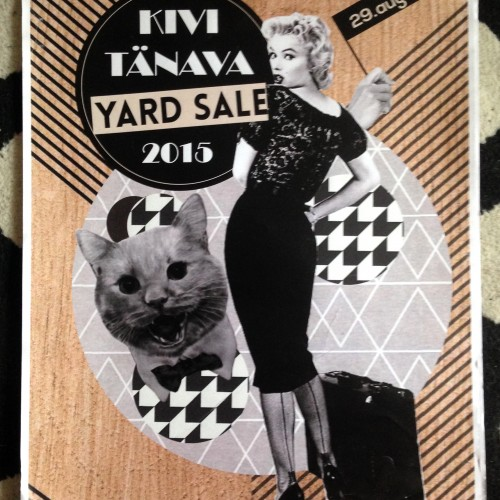 POSTER design for YARD SALE