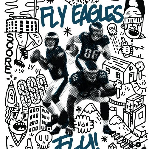 Fly Eagles Fly - Rally Poster