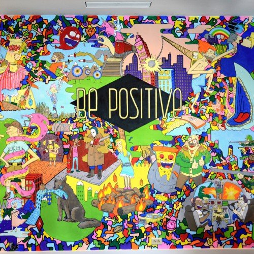 Be Positive mural