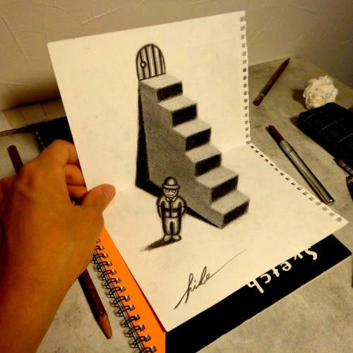 3D Drawing - Stairs