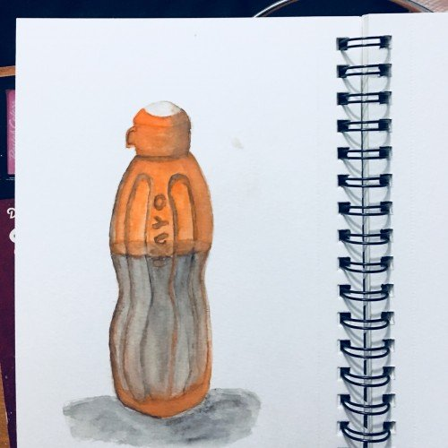 Still life Bottle