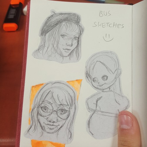 Bus sketches
