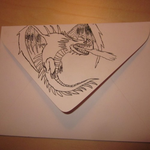 Dragon Envelope (back)