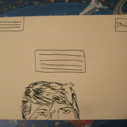 David Bowie Envelope front