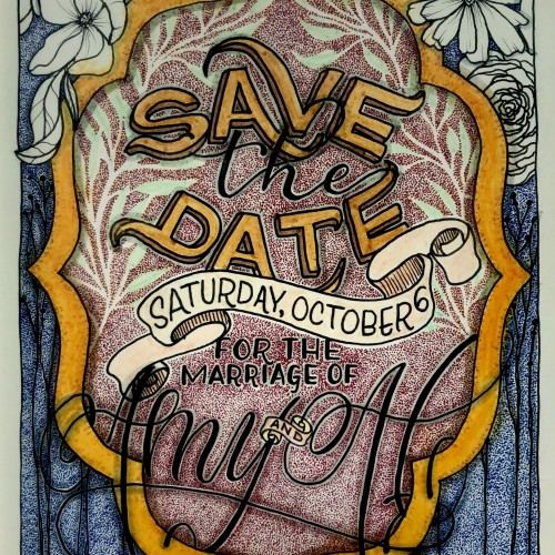 Amy & Al - Save the Date