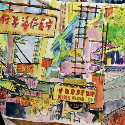 Travel Sketchbook, China 2017, Part 3