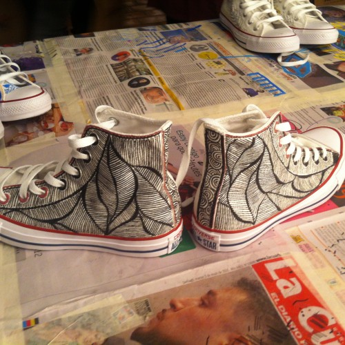 Loving Converse: Chuk Taylors hand made by me