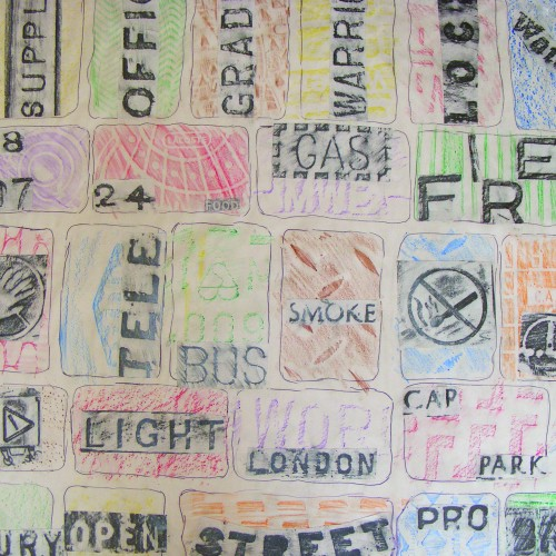 Street London Rubbings