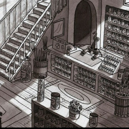 Witchs potion shop
